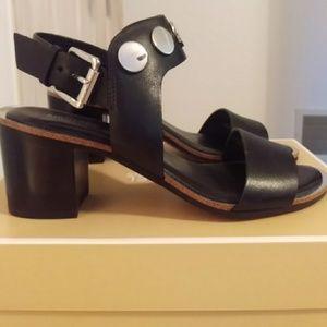 Michael Kors Reggie Mid Heel Sandals